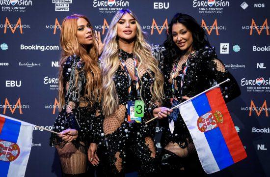 Evrovizija, Srbija, Hurricane, Uraganke