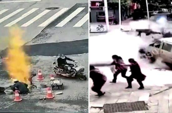 Eksplozija na ulici
