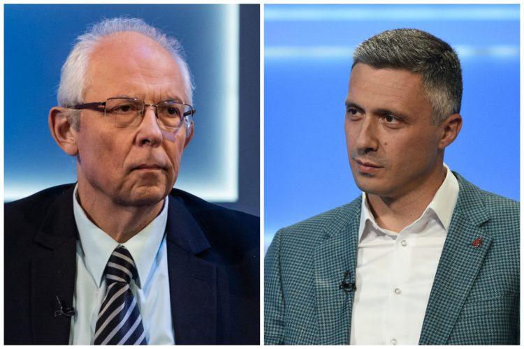 Predrag Kon i Boško Obradović. Foto: Ivan Dinić/Nova S