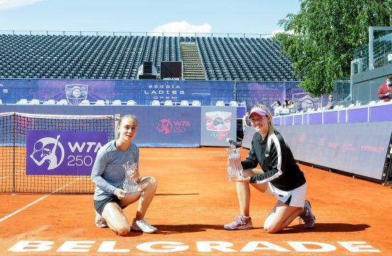 Aleksandra Krunić, Nina Stojanović WTA Beograd