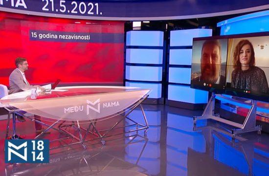 Ljubo Filipović, Jovana Marović, emisija Među nama, Medju nama