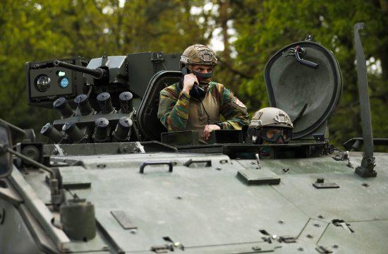 Belgija, vojska
