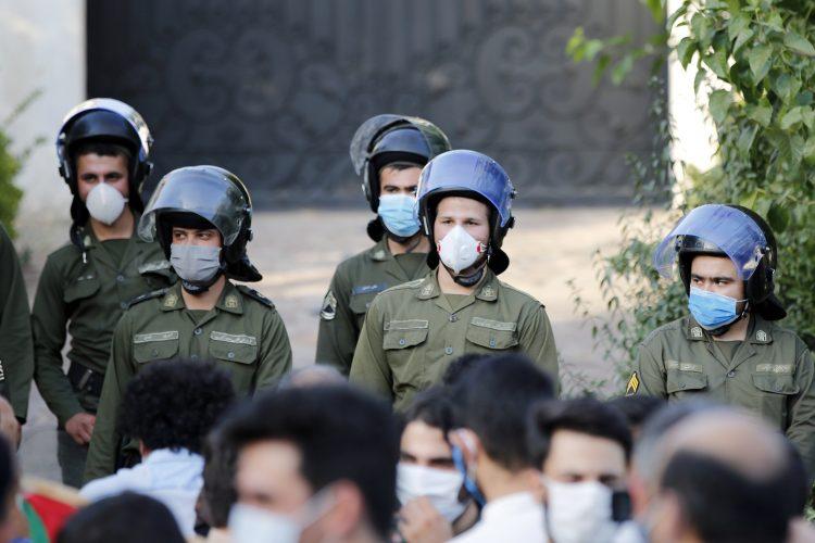 Iran, policija
