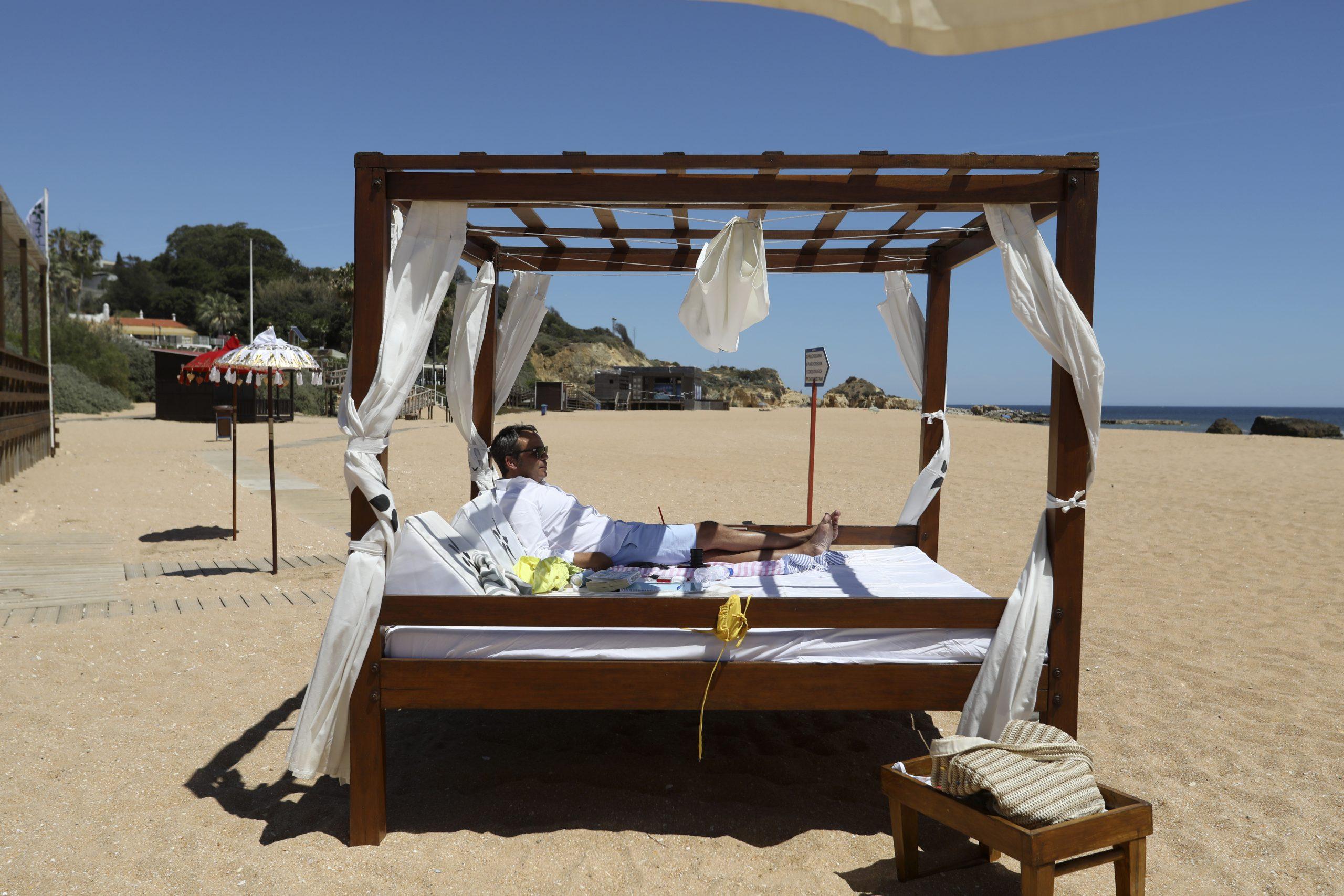 Portugal, leto, plaža