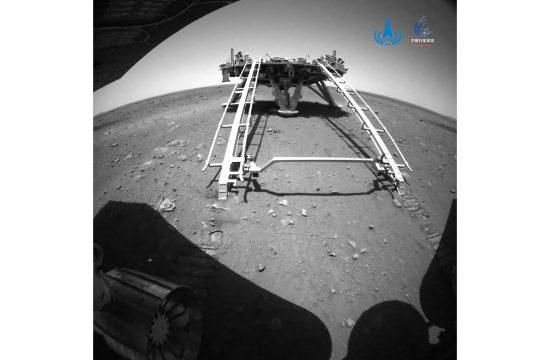 Kina Mars rover