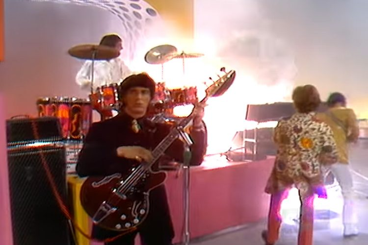 The Who on THE SMOTHERS BROTHERS COMEDY HOUR