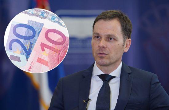 Siniša Mali, 30 eura, 30 evra