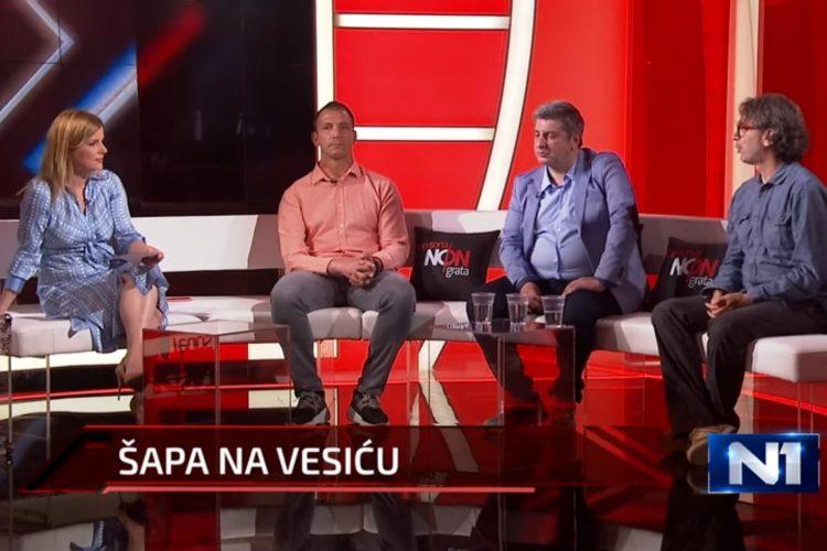 Danilo Ikodinović, Nikola Tomić, Đorđe Pavićević, Djordje Pavićević, emisija, Persona non grata