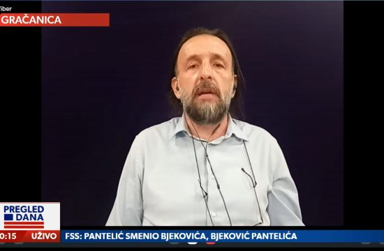 Živojin Rakočević, gost, emisija Pregled dana