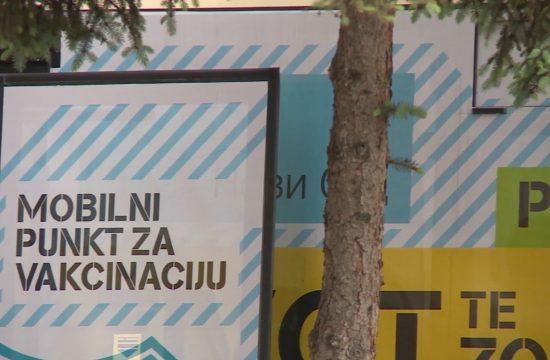 Novi Sad, mobilni punkt za vakcinaciju, vakcinacija, studenti