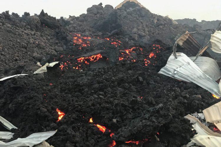 kongo erupcija