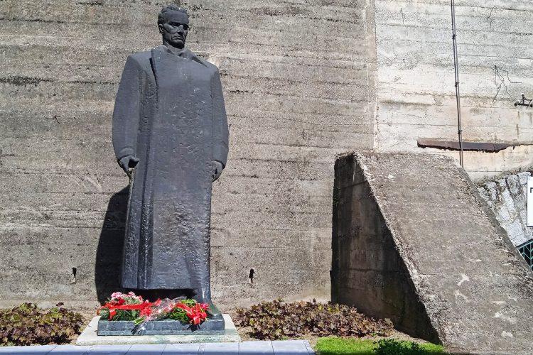 Užice 25.05.2021. Tito, Dan mladosti, Titov rođendan, rodjendan, spomenik, Jospi Broz Tito