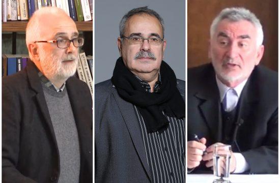 Miodrag Loma, Mihajlo Pantić, Milivoj Nenin