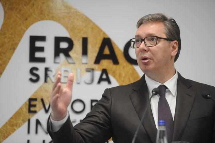 Aleksandar Vučić, ERIAC, Evropski romski institur za umetnost i kulturu
