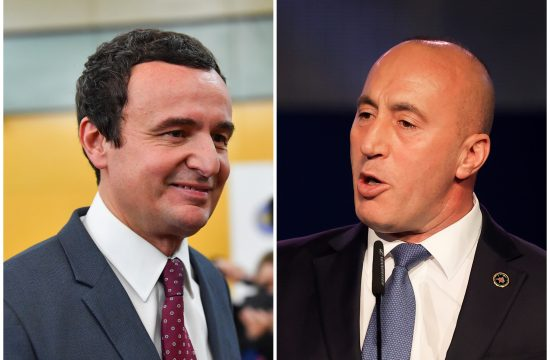 Aljbin Kurti, Ramuš Haradinaj