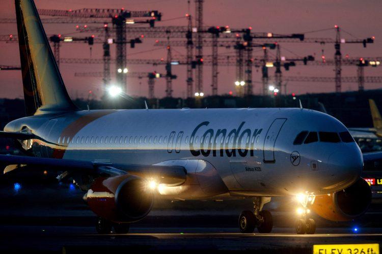 Frankfurt, avion, aerodrom