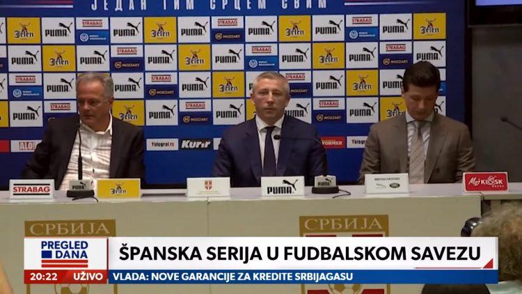 Fudbal, Igra prestola u FSS, prilog, emisija Pregled dana