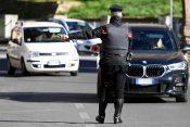 Rim, policija, karabinjeri, saobraćaj