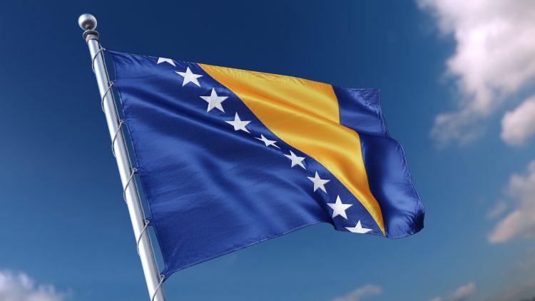 Bosna i Hercegovina, sud, zastava