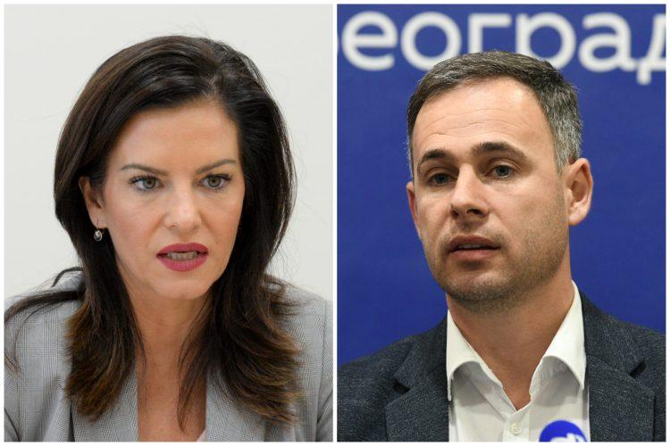 Marija Obradović, Miroslav Aleksić