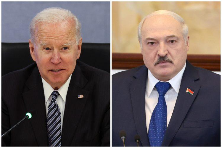 Džo Bajden, Aleksandar Lukašenko