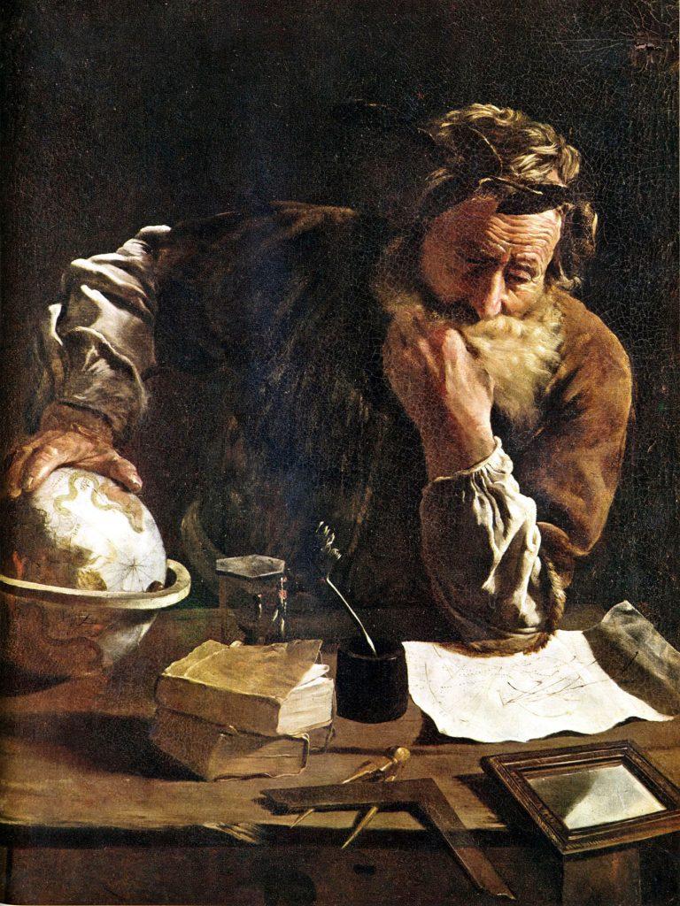 Arhimed, Domeniko Feti
