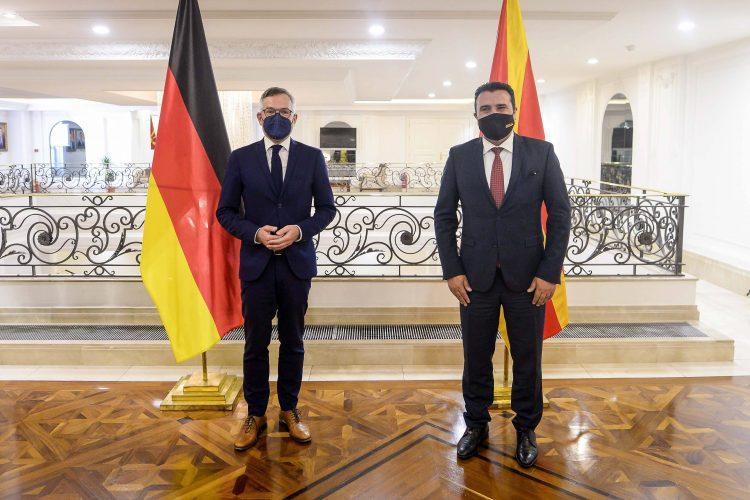 Mihael Rot i Zoran Zaev, Severna Makedonija