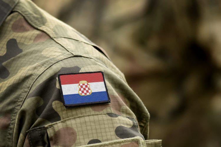 Vojska, vojnik, Hrvatska, zastava