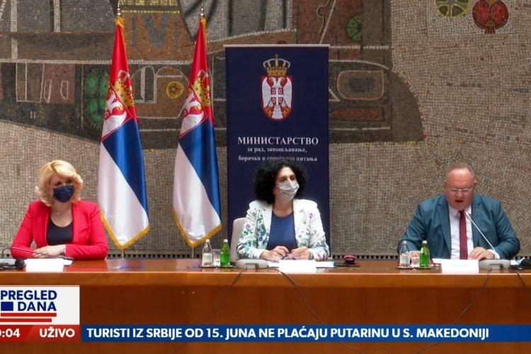 Gradovi, Nerazvijene opštine dobile 320 miliona dinara pomoći. Ministar Tončev vodi i na ručak, prilog, emisija Pregled dana