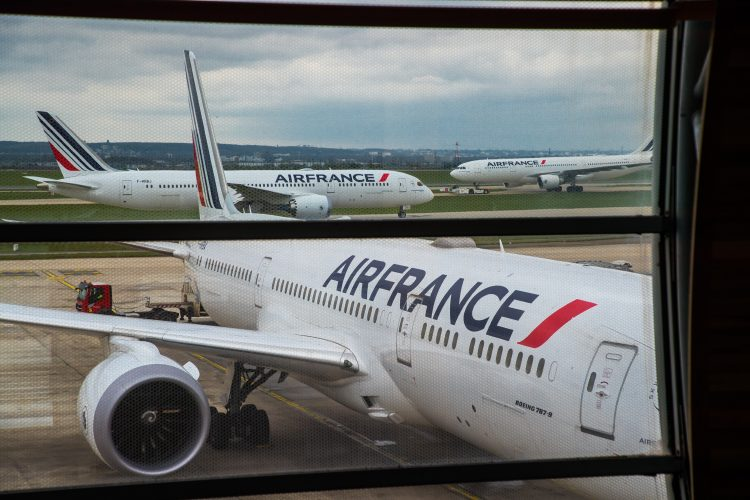 Er Frans, Air France, avion