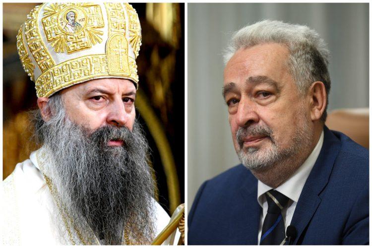 Patrijarh Porfirije, Zdravko Krivokapić kombo