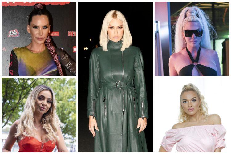 Nikolija, Maja Berović, Nataša Bekvalac, Karleuša,Teodora Džehverović kombo