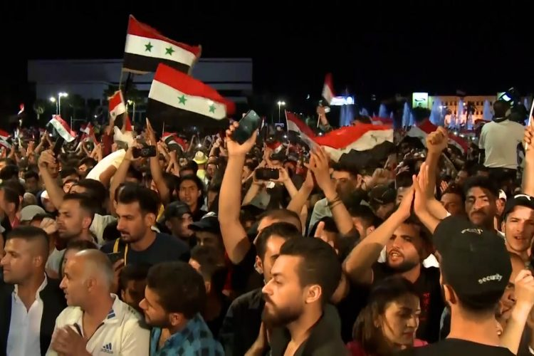 Bašar Al Asad izbori slavlje Damask