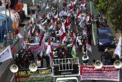 Indonezija, Izrael, protest