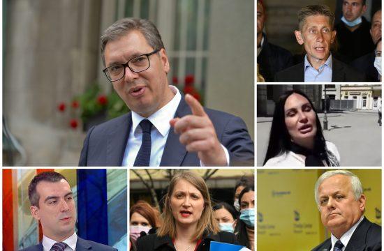 Aleksandar Vučić, Aleksandar Martinović, Staša stojanović, Marko Atlagić, Biljana Pantić Pilja, Vladimir Orlić