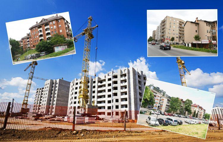 Građevina, gradjevina, gradilište, Borča, Višnjička banja, Miljakovac