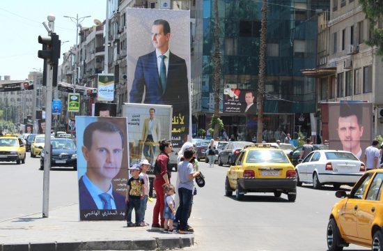 Bašar al Asad , Sirija,