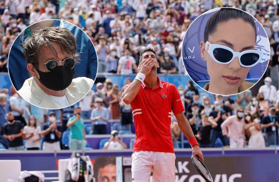 Novak Đoković, Novak Djoković, Dragan Bjelogrlić, Sara Jo