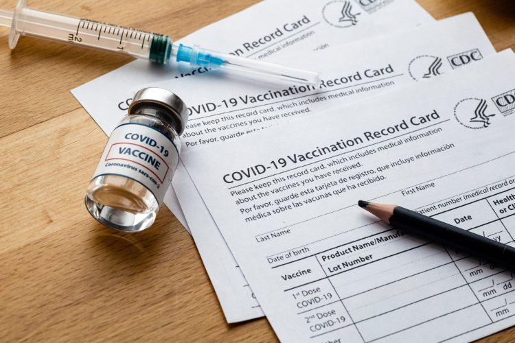 Potvrda, vakcinacija, koronavirus