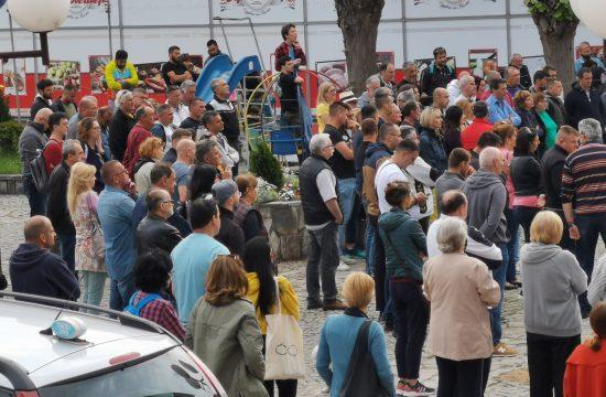 Rudnik, protest, Rio Tinto