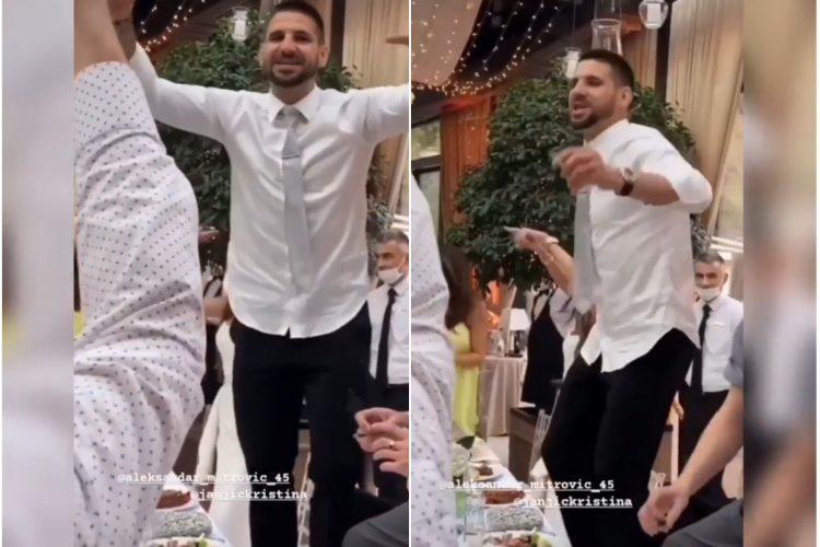 Aleksandar Mitrović svadba