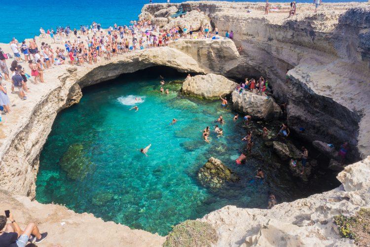 Italija, prirodni bazen, Grotta della poesia