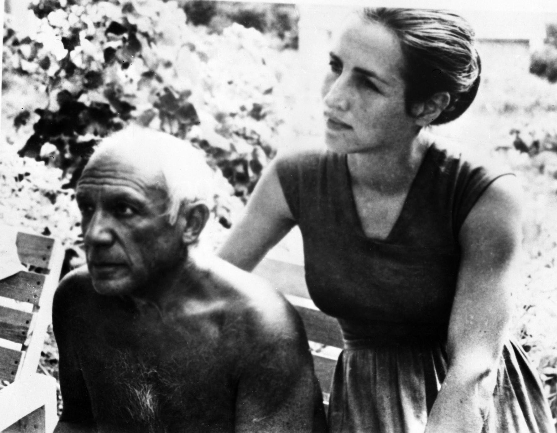 Pablo Pikaso i Fransoa Gilo