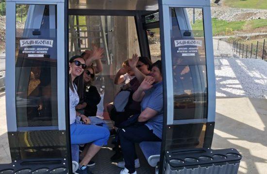 Zlatibor, besplatna vožnja gondolom za zdravstvene radnike