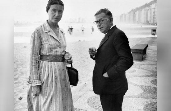 Simon de Bovoar i Žan Pol Sartr