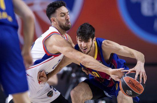 Vasilije Micić finale Evrolige protiv Barselone