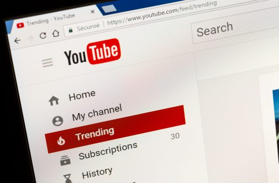 Jutjub, YouTube, trending lista