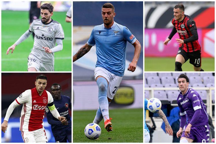 Filip Mladenović, Sergej Milinković Savić, Filip Kostić, Dušan Tadić, Dušan Vlahović, fudbal, fudbaleri