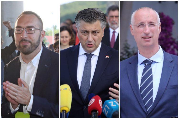 Tomislav Tomašević, Andrej Plenković, Ivica Puljak