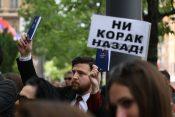 Protest advokata u Beogradu